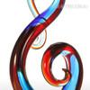 Musical Note Design Glass Statue Sculpture Art (4)