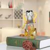 Puppy Dog Glass Figurine Animal Sculpture Art (2)