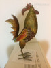 Customer Feedback Image of Brass Red Rooster Iron Metal Sculpture