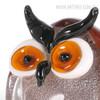 Chubby Owl Miniature Bird Glass Sculpture (4)