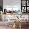 Blue Pumpkin Glass Miniature for Kitchen Decor
