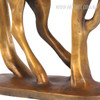 Golden Flying Horse Bronze Sculpture Contemporary Animal Statue (4)