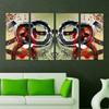 Heavy Textured multi panel canvas painting