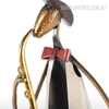Saxophone Playing Musician Metal Sculpture (3)