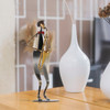 Saxophone Playing Musician Metal Sculpture (5)