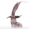 Eagle Iron Metal Sculpture Wild Hawk Bird Statue (3)