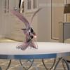 Eagle Iron Metal Sculpture Wild Hawk Bird Statue (5)
