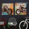 Retro Vintage Motorcycle Automobile Poster Prints