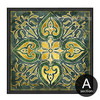 Retro Style Emerald Indian 2 Piece Kitchen Wall Decor (1)
