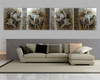 Arum Lily Floral multi panel wall art painting