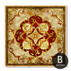 Vintage Moroccan Style Golden Canvas Print (2)