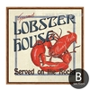 Marine Animal Lobster House Canvas Print