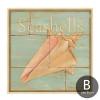 Retro Design Sea Creatures Starfish Seashell Art Prints (2)