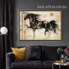 Retro Style Horse Animal Art (2)
