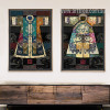 Vintage Posters of Chinese Classical Culture Robes Canvas Prints