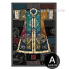 Vintage Poster of Chinese Classical Culture Robes Canvas Art