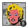 Andy Warhol Marilyn Monroe Design Canvas Print (2)