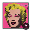 Andy Warhol Marilyn Monroe Design Canvas Print