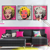 Andy Warhol Marilyn Monroe Design 3 Piece Wall Art (2)