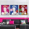 Andy Warhol Queen Elizabeth II Digital Art (3)