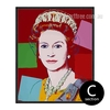 Andy Warhol Queen Elizabeth II Canvas Print (3)