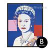 Andy Warhol Queen Elizabeth II Canvas Print (2)