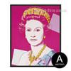 Andy Warhol Queen Elizabeth II Canvas Print