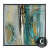 Modern Abstract Painting Square Canvas Art (3)