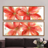 Botanical Red Floral Oversized Canvas Prints (2)