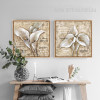 White Arum Lily Flowers Design Botanical Prints (3)