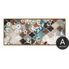 Moroccan Pattern Floral Canvas Print