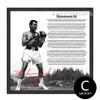 Muhammad Ali The Greatest Boxer Black & White Canvas Art (3)