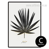 Black and White Palm Leaf Art (2)