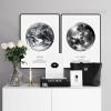 Earth Human Home, La Lune The Moon Canvas Prints