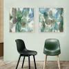 Abstract Botanical 2 piece Wall Art Set (3)