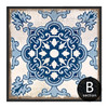 Chinese Style Porcelain Moroccan Pattern Wall Decor