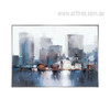 Modern Abstract NewYork Cityscape Painting Print (4)