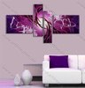 multi panel abstract painting Magenta Base