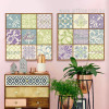 Fashionable Moroccan Pattern and Words Canvas Prints (2)