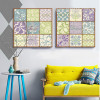 Fashionable Moroccan Pattern and Words Canvas Prints