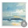 Blue Ocean Sailing Painting Print