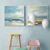 Blue Ocean Sailing Painting Print Set (2)