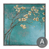 Blue Almond Blossom Floral Wall Art