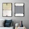 Geometric Color Partition Wall Art Set (2)