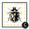 Beetle Pop Art Design Wall Decor