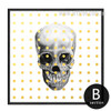 Skeleton Pop Art Design Wall Decor