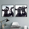 Black and White Cow Animal Prints (3)