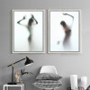 Naked Girl Shadow Wall Art Set (2)