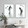 Naked Girl Shadow Wall Art Set (3)
