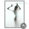 Naked Girl Shadow Canvas Print